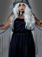 Spooky Spirit Plus Size Black Dress