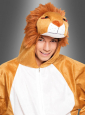 Plush Lion Costume Unisex Adult