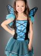 Blauer Schmetterling Kinderkostüm
