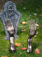Gruselige Skelett Arme