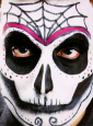 Day of the Dead Spinne Makeup Set
