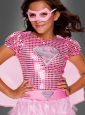 Rosa Supergirl Kleid