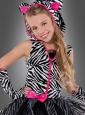Sassy Stripes Zebra Costume Kids