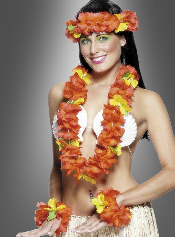 Hawaiian Flower Set