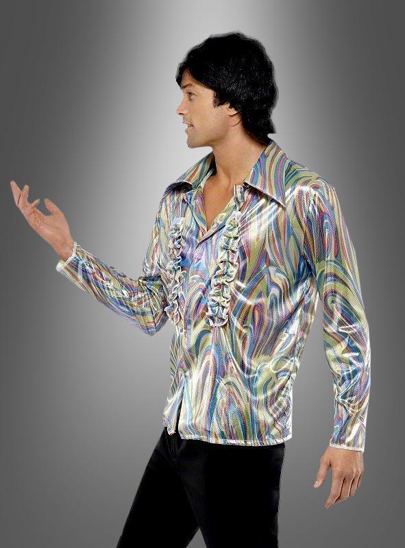 70s Sparkling Disco Shirt and Flares