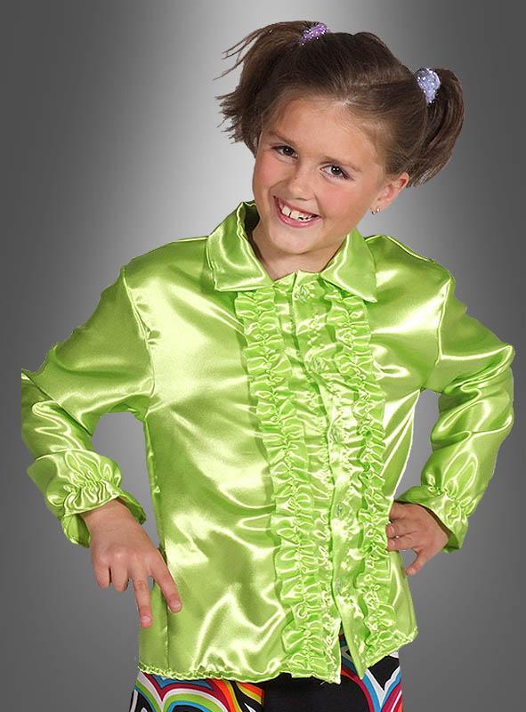 Rüschenhemd für Kinder