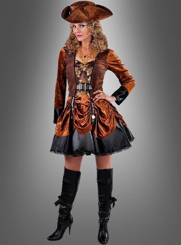 Steampunk Fashion Dress brown