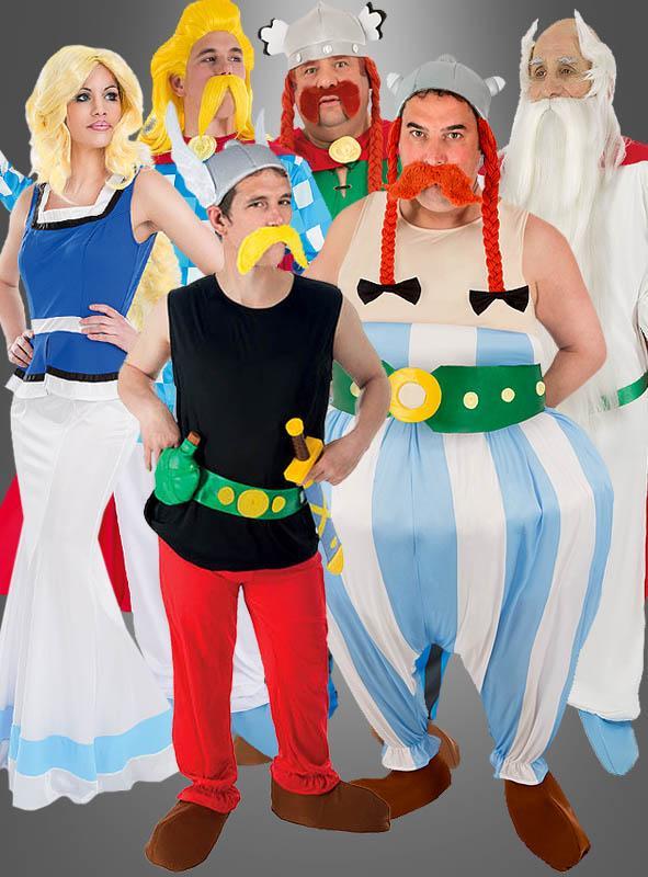 Asterix Lizenzkostüm für Erwachsene