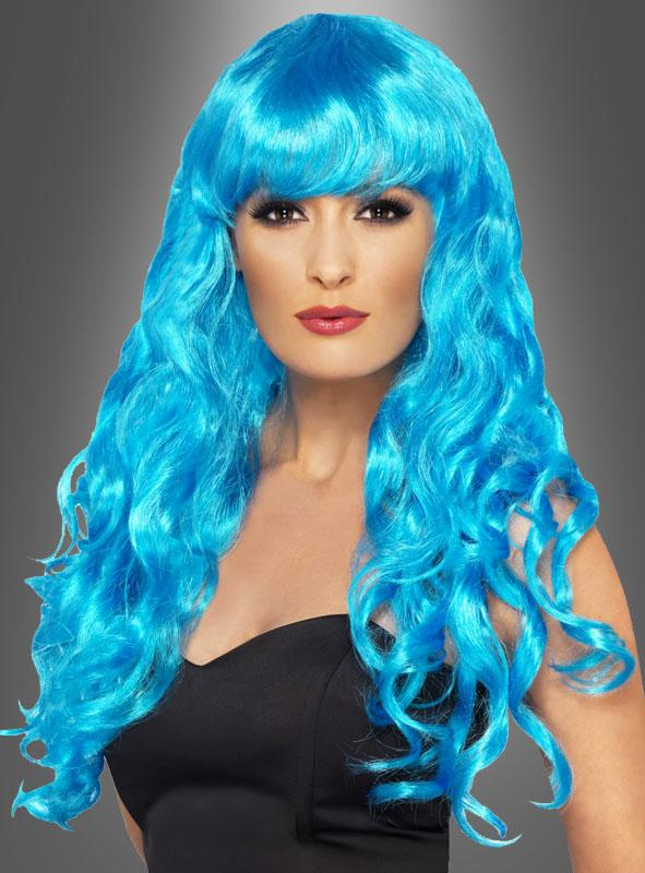Siren Glamour wig blue or green
