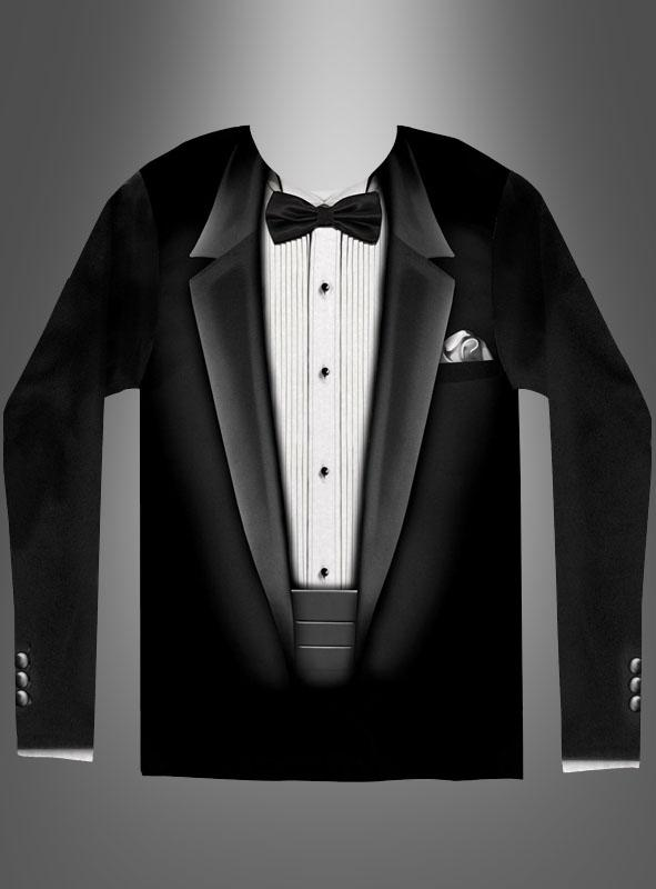 Smoking Shirt Anzug