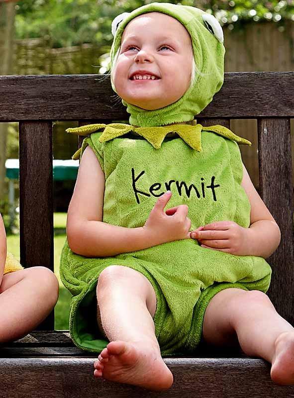 Kermit Babykostüm Muppets