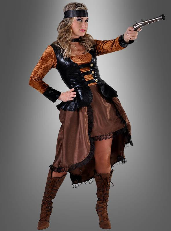 Steampunk Dress Lady