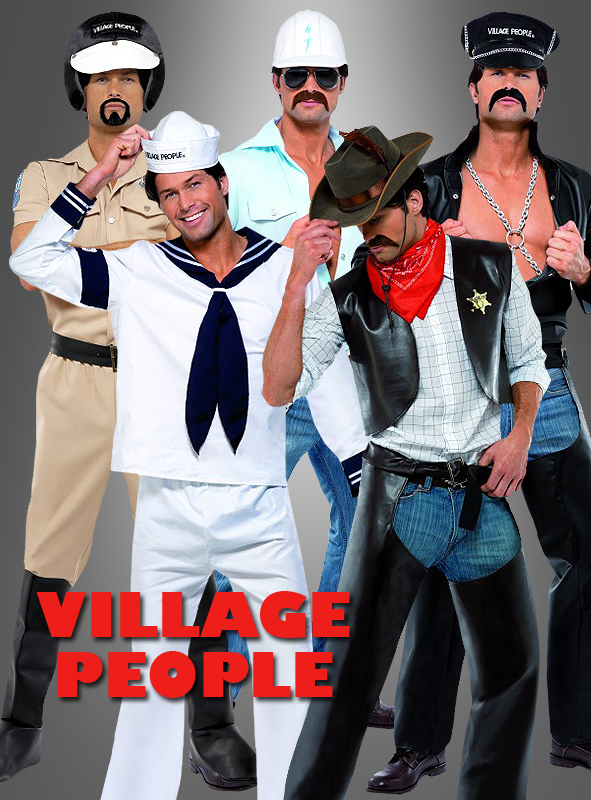 Village People YMCA Bauarbeiter