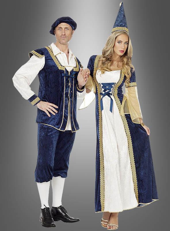 Dress Damsel of the Castle blue-white