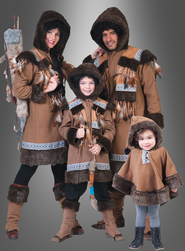 Eskimo Inuit Lady Costume