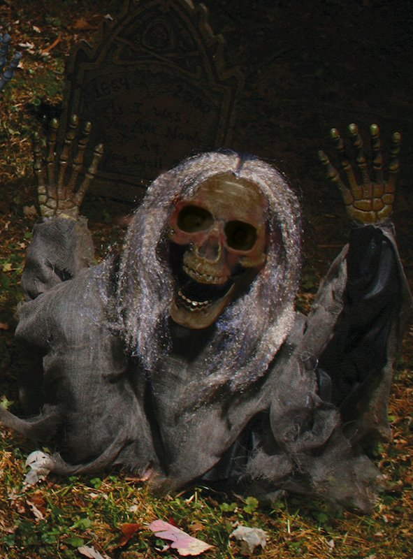 Untoter Friedhofsgeist Deko