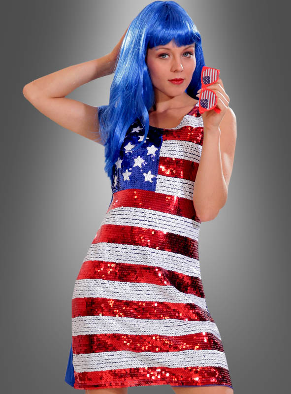 Paillettenkleid usa