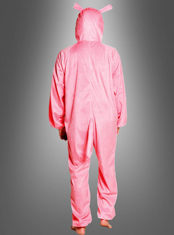 Pink Pig Costume Adult
