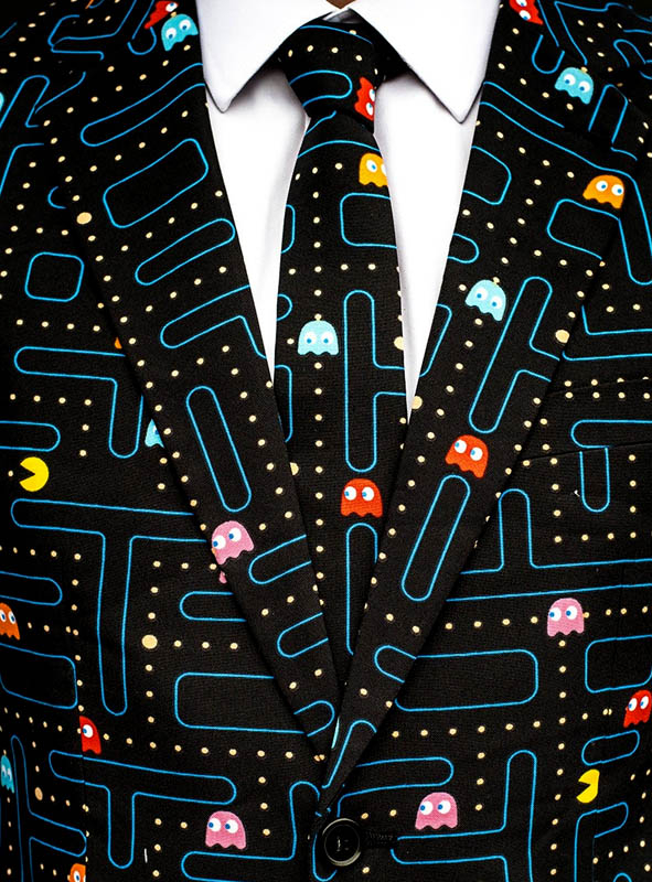 Deluxe Pac Man Anzug Opposuits