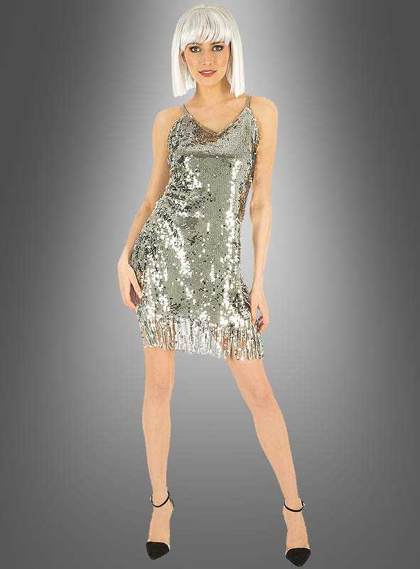 Disco Dress gold or silver