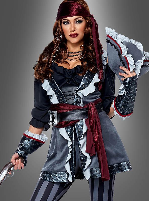 Deluxe Piratin Kostüm Lady Blackheart