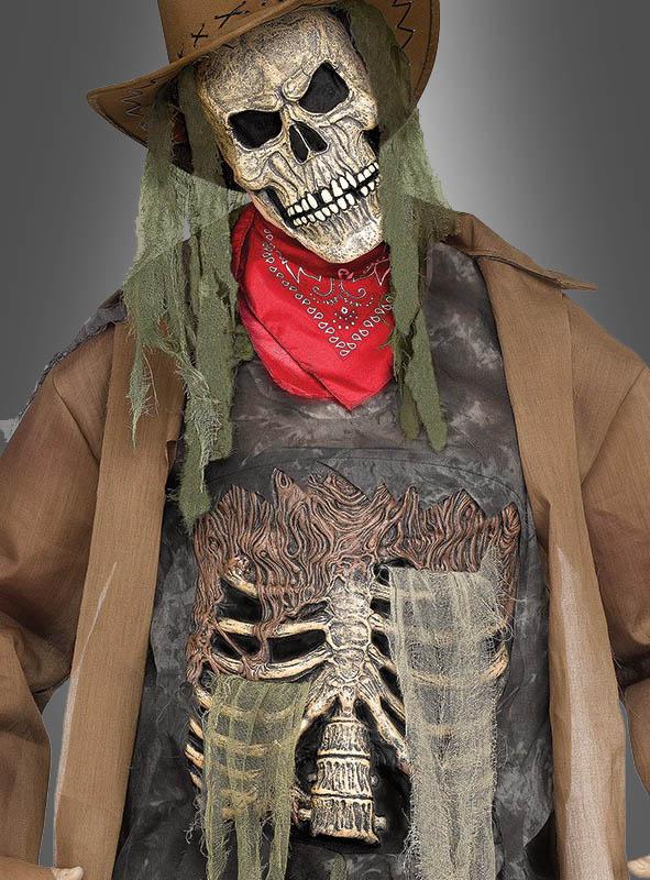 Skeleton Cowboy Costume for Men