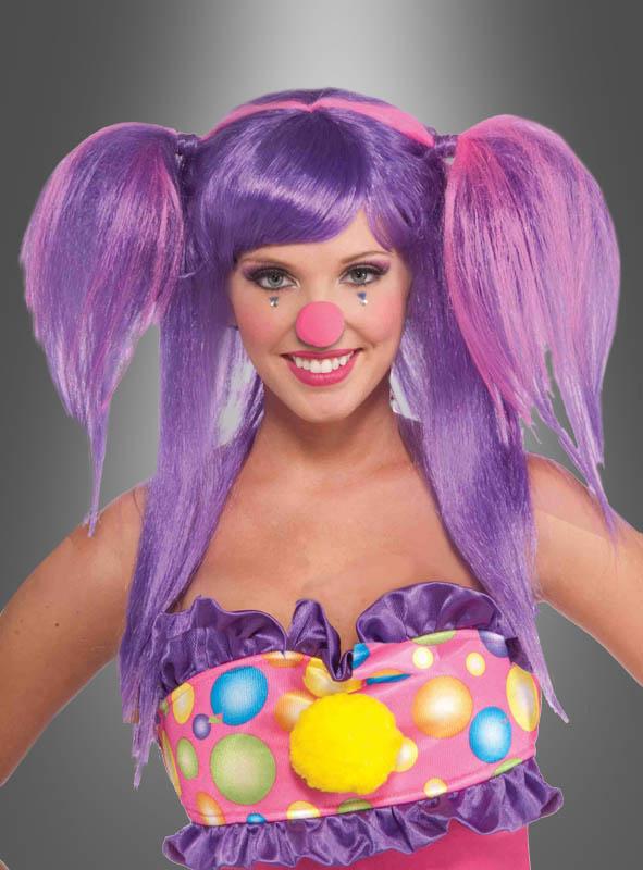 Clown Circus Sweetie Wig