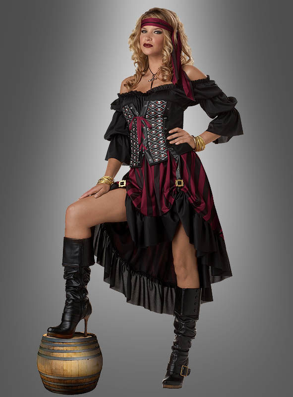 Pirate Wench Anne Costume
