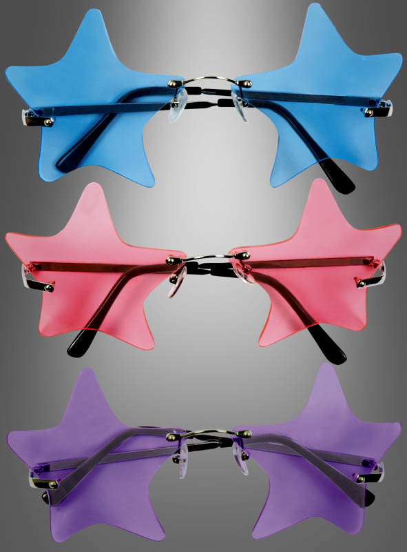Disco Star Glasses