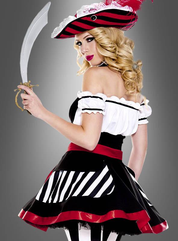 Sexy Piratin Kostüm Deborah
