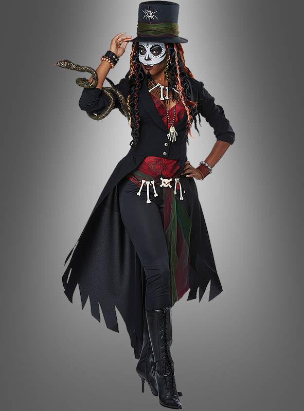 voodoo zauberin kostum fur damen