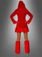 Devil Dress with Leg Warmers