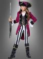 Piratinkostüm für Mädchen