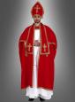 Rotes Nikolaus Kostüm für Herren
