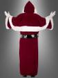 Luxus Nikolaus Kostüm mit Mantel