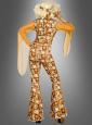 Gina Disco Diva 70er Jahre Kostüm