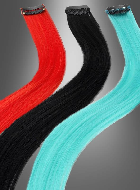 Hair Extensions in different colors