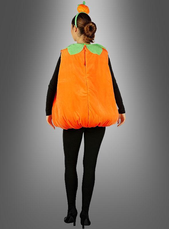 Kürbis Kostüm Plüsch für Erwachsene