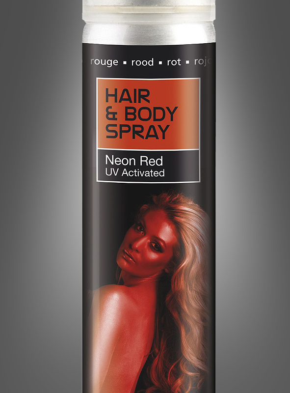 UV activated Body and Hair Spray