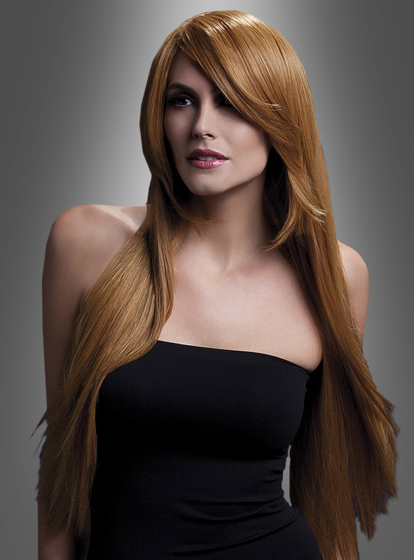 Amber Deluxe Long Hair Wig