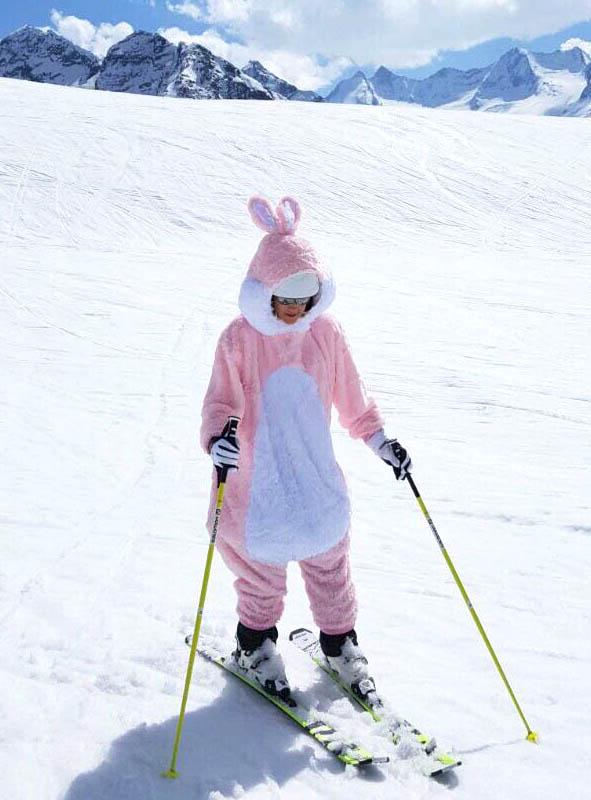 Plush Rabbit Adult Costume