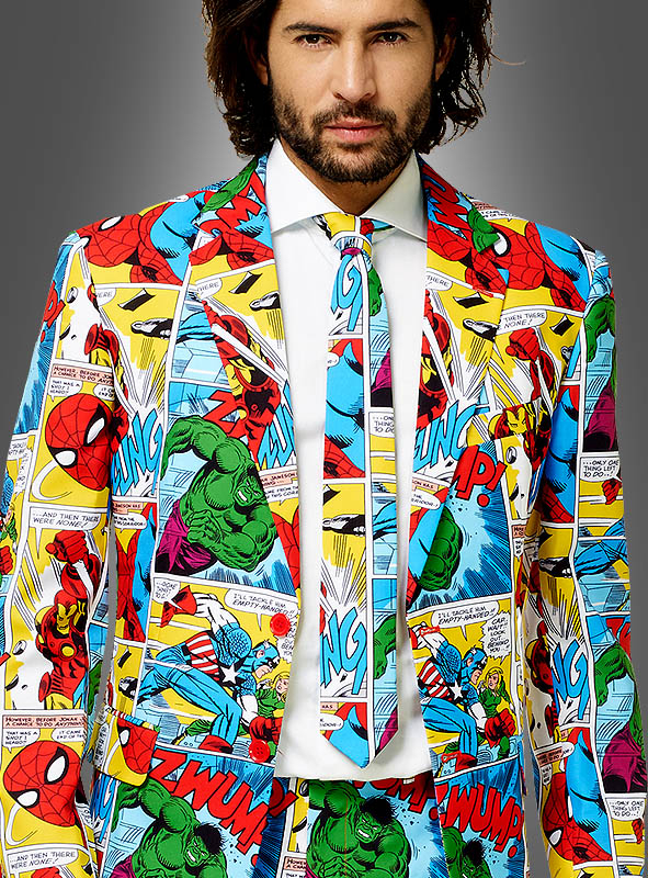 Marvel Herrenanzug OppoSuits