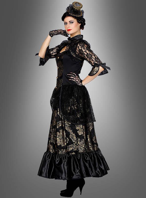 Gothic kleid lang 48