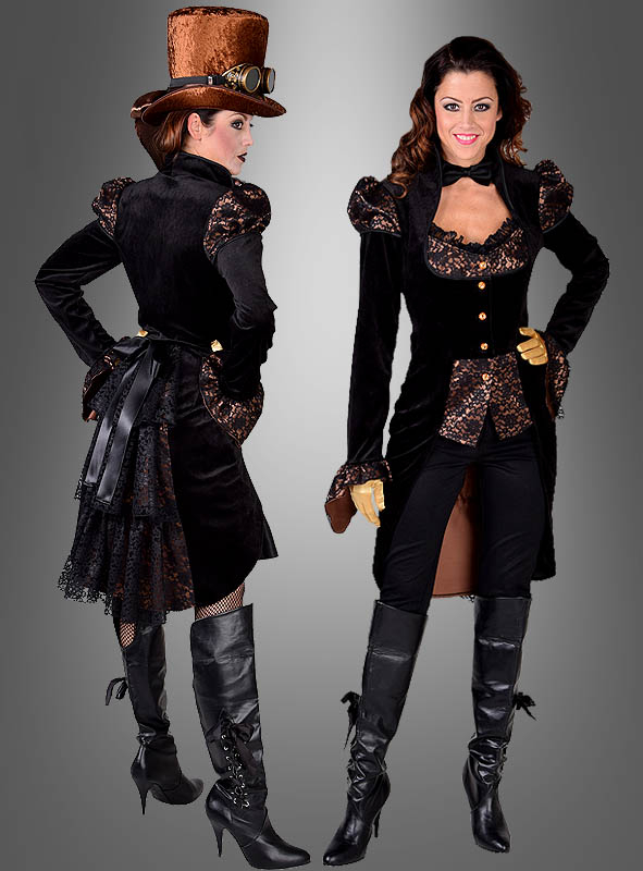 steampunk jacke lady herriet
