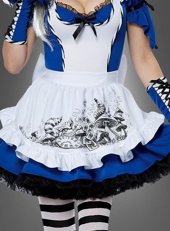 Alice im Wunderland Kleid für Damen » Kostümpalast.de