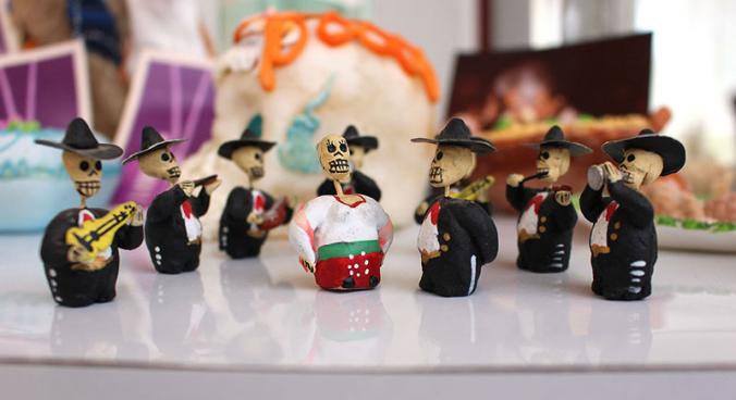 día de los muertos band minifiguren