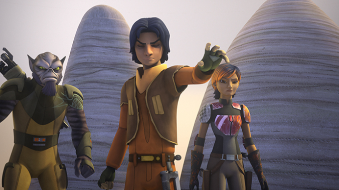 Ezra, Zeb und Sabine