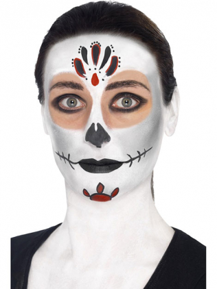 Totenmaske schminken