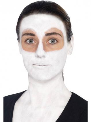 Gesicht weiß schminken