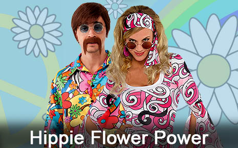 60s Flower Power Hippie Party Costumes